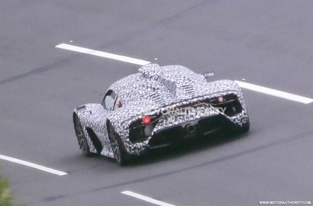 Mercedes-AMG One spy shots - Photo credit:S. Baldauf/SB-Medien