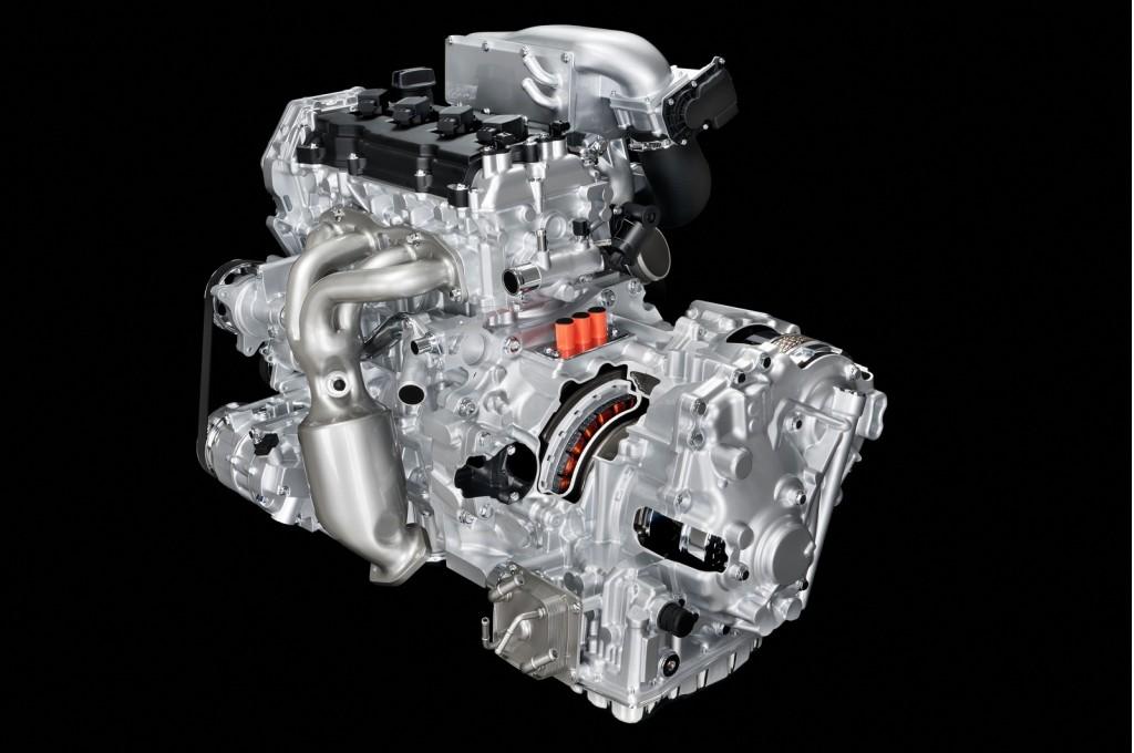 Image Nissan 2 5 Liter Supercharged Four Cylinder Engine