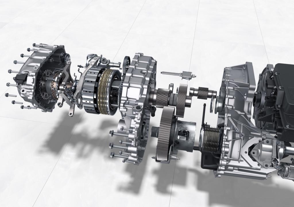 Porsche Taycan 2-speed gearbox