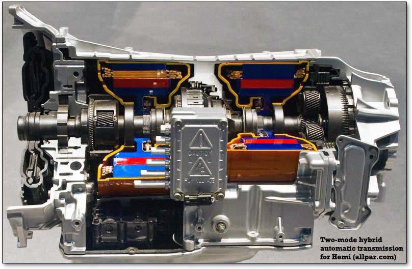 Hybrid Engine Diagram