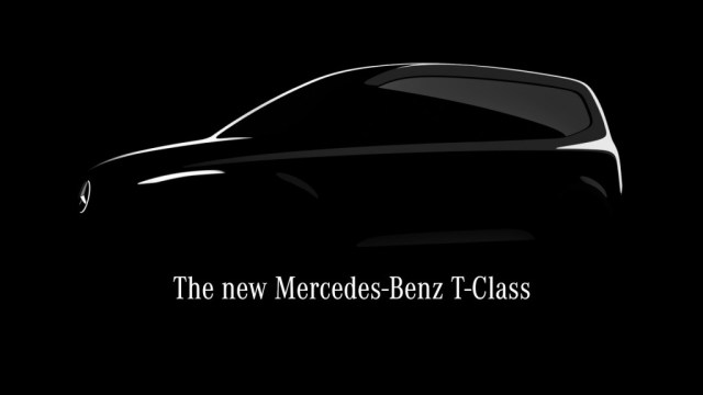 Teaser for Mercedes-Benz T-Class debuting in the first half of 2022