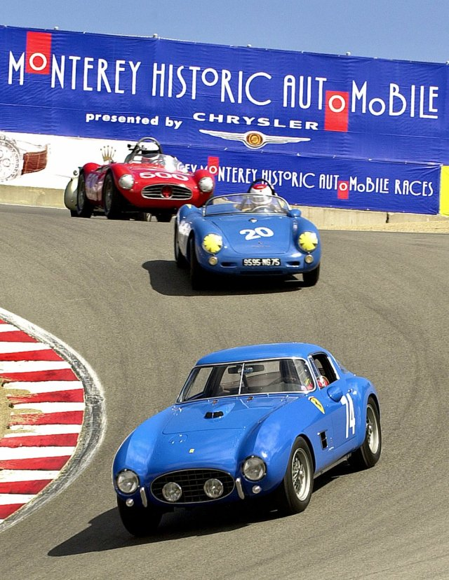 Vintage races are a key part of Monterey Car Week | Andy Reid photo