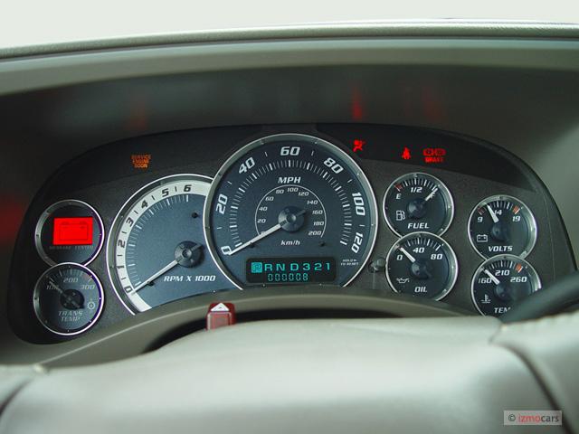 2008 Chevy Silverado Fuse Diagram Image 2003 Cadillac Escalade 4 Door 2wd Instrument