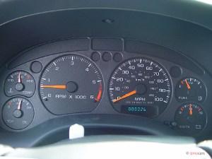 Image: 2005 Chevrolet Blazer 2door Instrument Cluster