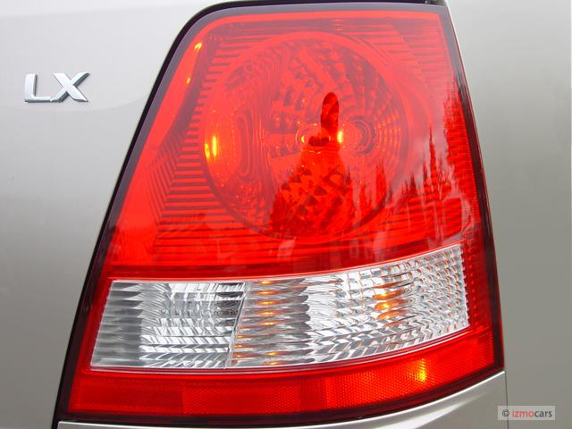 2005 Kia Sorento Tail Light Diagram