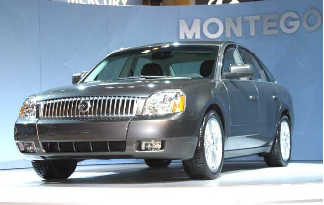 2005 Ford Freestyle Ford Five Hundred Mercury Montego Wiring