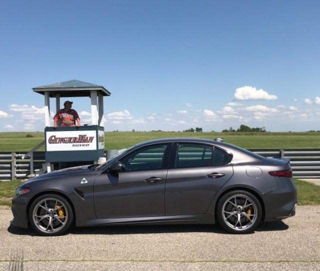 Alfa Romeo Giulia Quadrifoglio Track Day Exhilaration And Disappointment