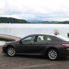 All New Camry Hybrid 2018 Pantip Toyota First Drive Le Willamette Valley Oregon June 2017