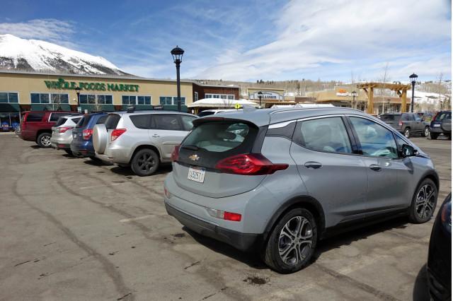 2019 Chevrolet Bolt EV at Whole Foods, Frisco, Colorado 2019 chevrolet bolt ev