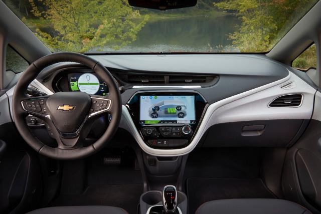 2019 Chevrolet Bolt EV dash