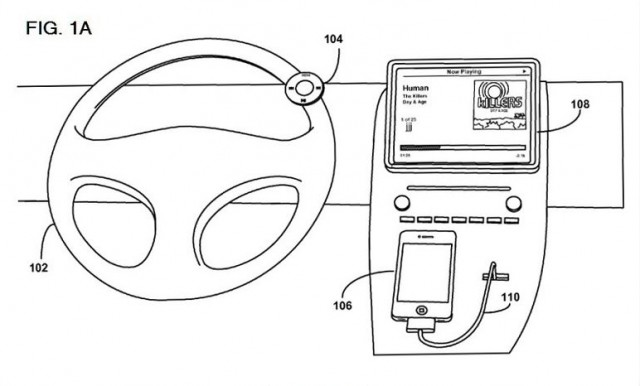 Apple Patents An In-Car Remote Control