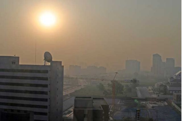 el smog de Beijing