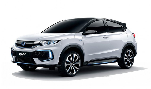 Dongfeng Honda X-NV Concept