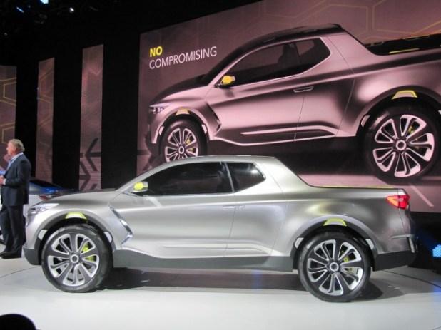 Resultado de imagen para Hyundai Santa Cruz Pickup 2020