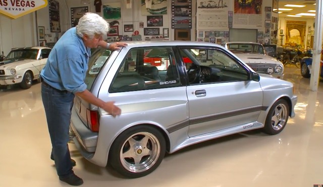 jay leno tests the
