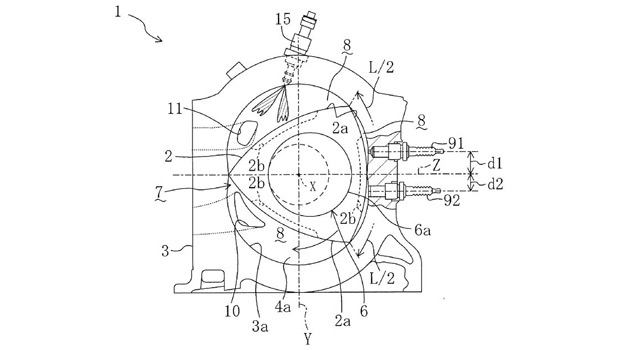 Patent application reveals new direct-injection rotary