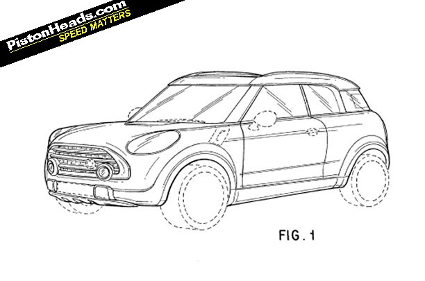 Sketches Of The Upcoming MINI Crossman SUV