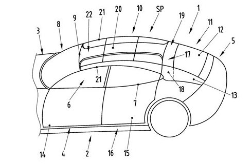 New Patent Drawings Reveal More Of Porsche Panamera