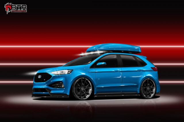 2019 Edge ST Leads A Fleet Of Ford SUVs For SEMA Cars