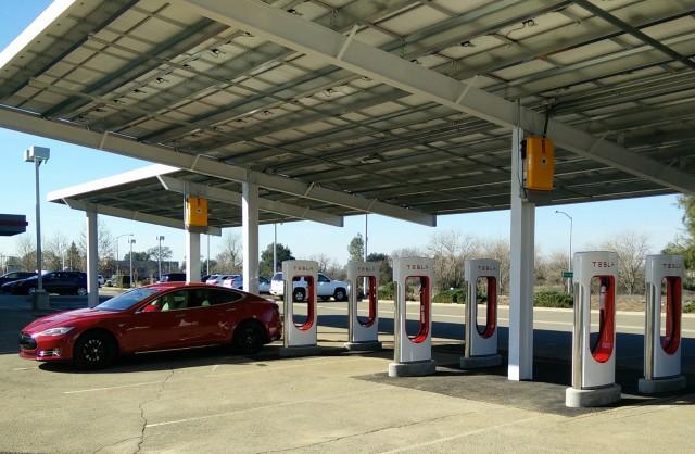Image result for tesla supercharger station roseville