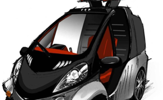 Toyota Smart Insect Tiny Single Seat Electric Car Updated