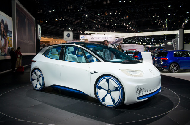 Volkswagen ID concept, 2017 Los Angeles auto show