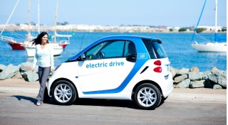 Car2Go Smart ForTwo Electric Drive in San Diego