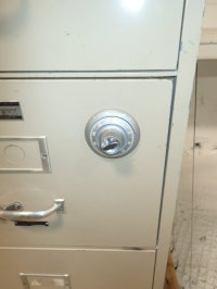 Used Victor Combination Lock Fireproof File Cabinet | HGR ...