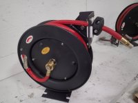 Used Central Pneumatic Retractable Pneumatic Hose Reel ...