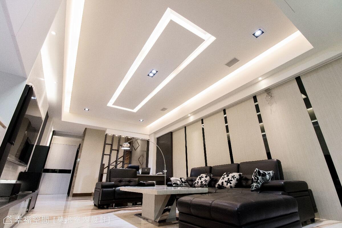 翁志傑 - 黑白時尚的多元風格 輕鬆暇意居住宅 - 幸福空間 - 幸福空間