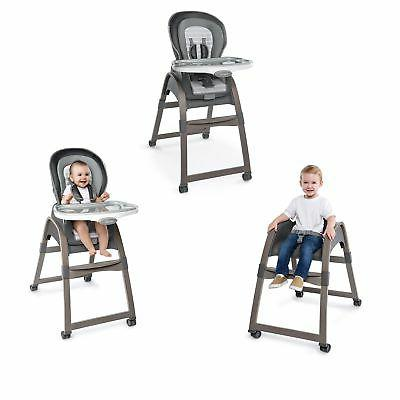 Ingenuity Boutique Collection 3-in-1 Wood High Chair, Bell