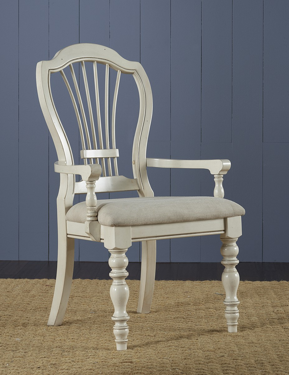 chair images hd white velvet dining chairs hillsdale pine island wheat back arm old ivory 5265 803 hillsdalefurnituremart com