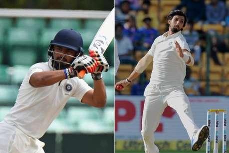 रिषभ पंत ने की अभ्यास मैच में वनडे जैसी धुआंधार बैटिंग, ईशांत-उमेश चमके
