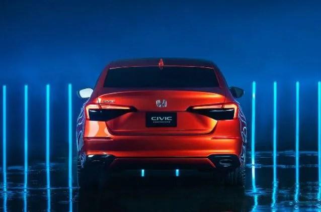 In pics: Honda reveals new Civic 2022 prototype