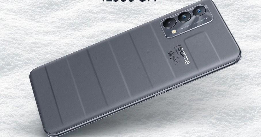 Realme GT Master Edition 5G : আদতে দাম ২৬,৯৯৯ টাকা। ফ্লিপকার্ট 'বিগ বিলিয়ন ডে'জ' সেলে ১৯,৯৯৯ টাকায় কেনা যাবে। (ছবি সৌজন্য ফেসবুক @realmeIndia)