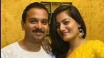 Namit Das and his wife Shruti Vyas who celebrate their wedding anniversary on February 15, like to celebrate Valentine's Day.