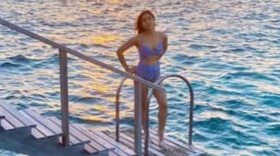 Sara Ali Khan too loves water and took a quick holiday in the Maldives earlier this year.