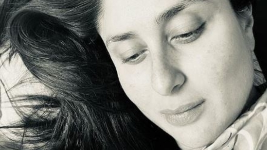 """""""Can't stop staring... at him,"""" wrote mommy Kareena Kapoor in this post."""