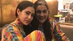Sara Ali Khan with mother Amrita Singh.