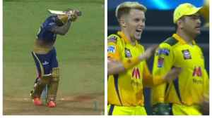 Did MS Dhoni tell Sam Curran about bowling Andre Russell around his legs?  The CSK captain gives a marvelous answer