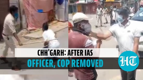 After IAS officer, cop attached to police lines for beating man in Chhattisgarh