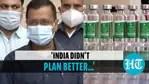Kejriwal on vaccination