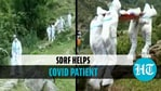 SDRF helps Covid patient