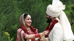 A picture from Yami Gautam and Aditya Dhar's wedding.