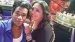 Biki Das with Dance India Dance judge Geeta Kapoor.
