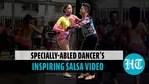 Specially-abled Venezuelan dancer's Salsa performance wins hearts