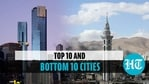 Auckland (New Zealand) topped the list while Damascus (Syria) came last (Reuters)
