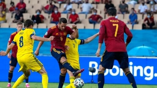 Koke had a couple of glorious chances to score but just like his colleagues, he lacked the finish in the final third.  On this occasion, he blazed the ball over the crossbar. (AP)