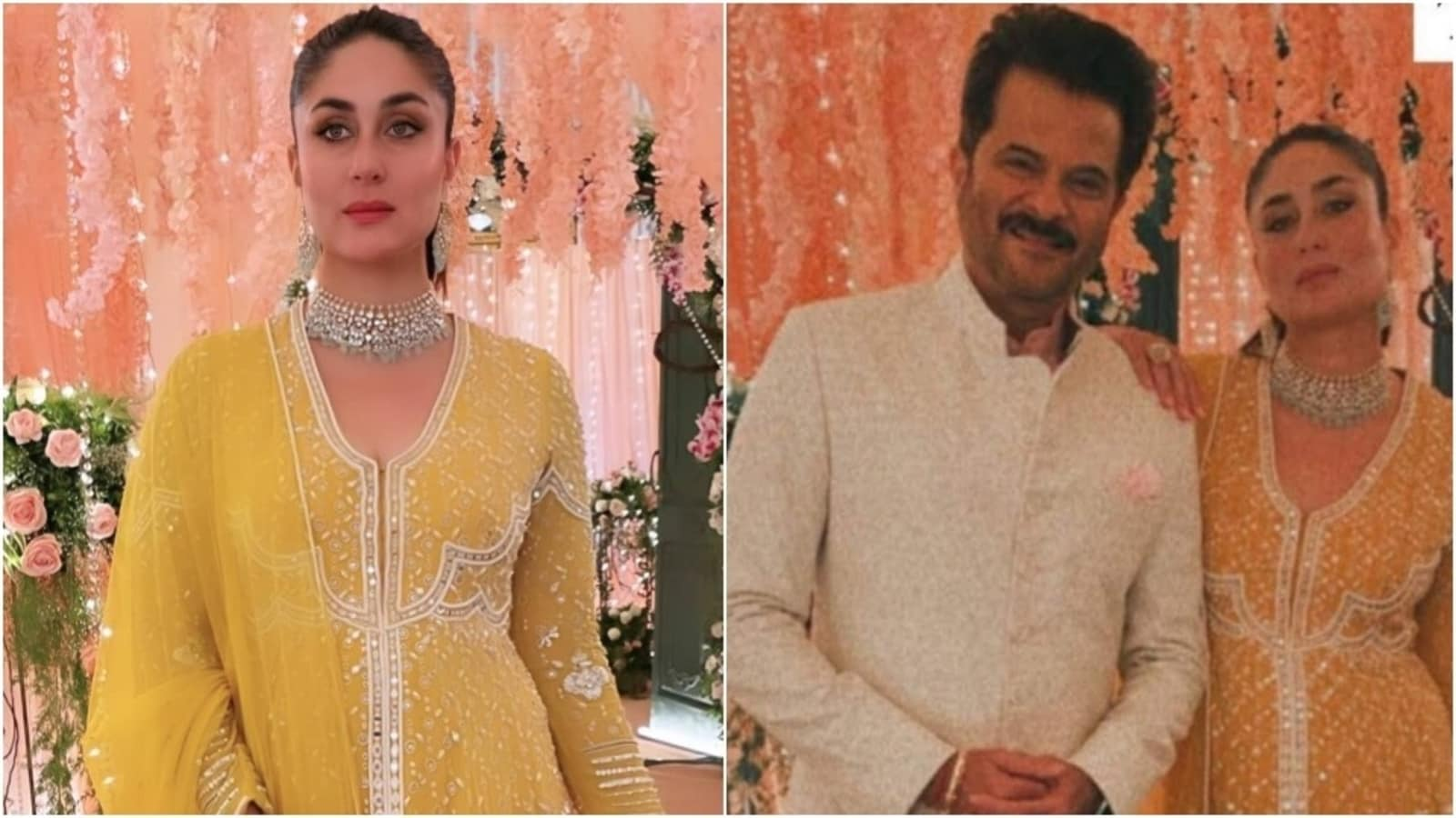 Kareena Kapoor shoots with Anil Kapoor in ₹1 lakh anarkali set, see pics  and video | Fashion Trends - Hindustan Times