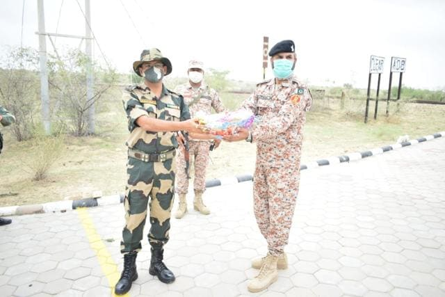 Greetings and best wishes of peace and harmony were conveyed to the Pakistan Army representatives from Indian Army. (Sourced)